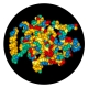 Haemophilus influenzae Protein D structure predicted using DNASTAR's NovaFold application, visualized in Lasergene Protean 3D